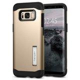 Spigen Slim Armor Galaxy S8 Plus hoes Goud