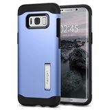 Spigen Slim Armor Galaxy S8 Plus hoes Blauw