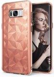 Ringke Air Prism Galaxy S8 hoesje Rose Goud