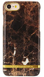 Richmond Finch Marble Glossy iPhone 7 hoesje Brown