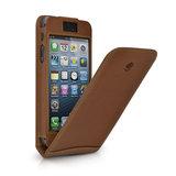 Beyzacases Flip case iPhone 5 Tan