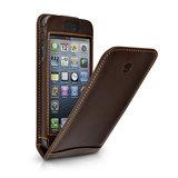 Beyzacases Flip case iPhone 5 Brown