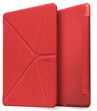 LAUT TriFolioiPad 2017 hoesje Rood