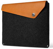 Mujjo Originals MacBook 13 inch USB-C sleeve Tan
