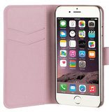 Xqisit Viskan Wallet iPhone 6/7 hoesje Rose Goud