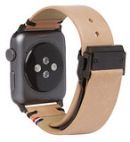 Decoded Leather Watch strap 42 mm Sahara
