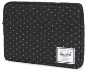 Herschel Supply Anchor 13 inch sleeve Gridlock Zwart