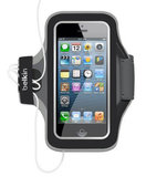 Belkin EaseFit Sport Slim Fit armband iPhone 5/5S Black
