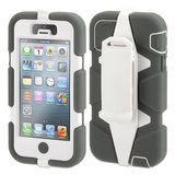 Griffin Survivor Extreme Duty case iPhone 5 Grey/White