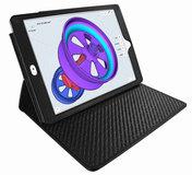 Piel Frama Cinema iPad Pro 10,5 inch hoes Zwart