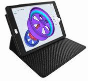 Piel Frama Cinema iPad Pro 12,9 inch hoes 2017 Zwart