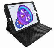 Piel Frama Cinema iPad Pro 12,9 inch hoes 2017 Croco Zwart