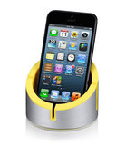 Just Mobile AluCup stand Yellow