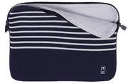 MW Pro 13 inch 2016 / Air 2018 sleeve Blauw Wit