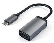 Satechi USB-C naar VGA 1080P adapter Grijs