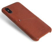 Decoded Leather Backcover iPhone X hoesje Bruin