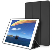 TechProtection Smart iPad 2018 / 2017 hoes Zwart