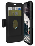 UAG Metropolis iPhone X Wallet hoesje Zwart