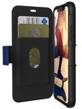 UAG Metropolis iPhone X Wallet hoesje Blauw