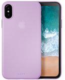 LAUT SlimSkin iPhone X hoesje Violet