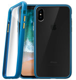 LAUT Accents iPhone X hoesje Blauw