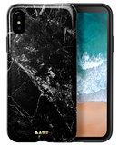 LAUT Huex iPhone X Marble hoesje Zwart