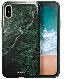 LAUT Huex iPhone X Marble hoesje Groen