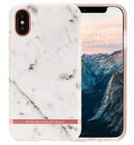 Richmond Finch Marble iPhone X hoesje Wit
