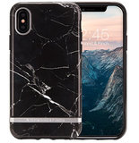 Richmond Finch Marble iPhone X hoesje Zwart