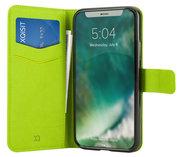 Xqisit Viskan Wallet iPhone X hoesje Groen