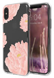 FLAVR iPlate iPhone X hoesje Peonies