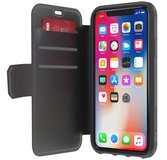 Griffin Survivor Strong iPhone X Wallet hoesje Zwart