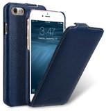 Melkco Leather Jacka iPhone 8 hoesje Blauw
