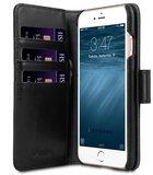 Melkco Alphard 2 in 1 iPhone SE 2020 / 8 hoesje Zwart