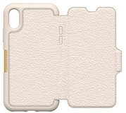 Otterbox Strada iPhone X Wallet hoesje Beige