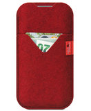 Pack Smooch Shetland iPhone X sleeve Rood