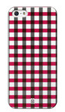 Case Scenario case iPhone 5 Red Check
