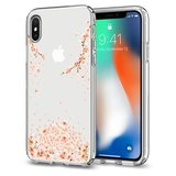 Spigen Liquid Crystal iPhone X hoesje Blossom