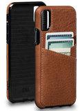 Sena Bence Lugano iPhone X Wallet hoesje Bruin