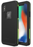 LifeProof Fre iPhone X waterdicht hoesje Zwart