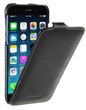 Melkco Leather Jacka Flip iPhone 6/6S hoesje Zwart