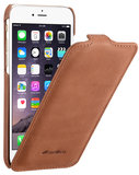 Melkco Leather Jacka Flip iPhone 6/6S hoesje Bruin