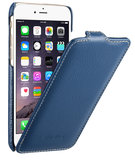 Melkco Leather Jacka Flip iPhone 6/6S hoesje Blauw