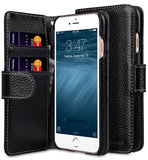 Melkco Leather Wallet iPhone SE 2020 / 8 hoesje Zwart