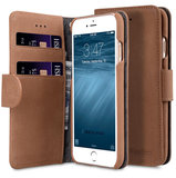 Melkco Leather Wallet iPhone SE 2020 / 8 hoesje Bruin