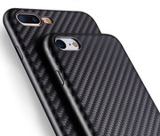 SwitchEasy Slim iPhone 8/7 hoesje Carbon