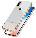 Caudabe Lucid Clear iPhone X hoesje Rose Goud