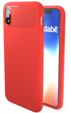 Caudabe Sheath iPhone X hoesje Rood