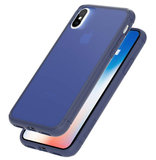 Caudabe Synthesis iPhone X hoesje Navy