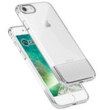 Caudabe Lucid Clear iPhone 8 hoesje Zilver